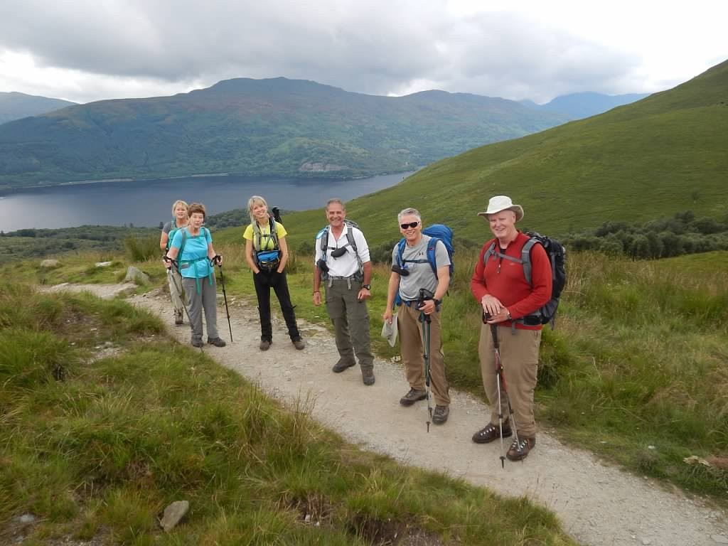 On the way to the Summit of Ben Lomond